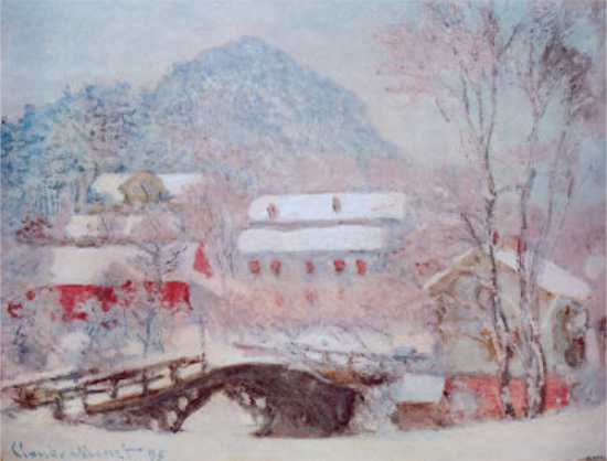 Sandviken - Village in Snow